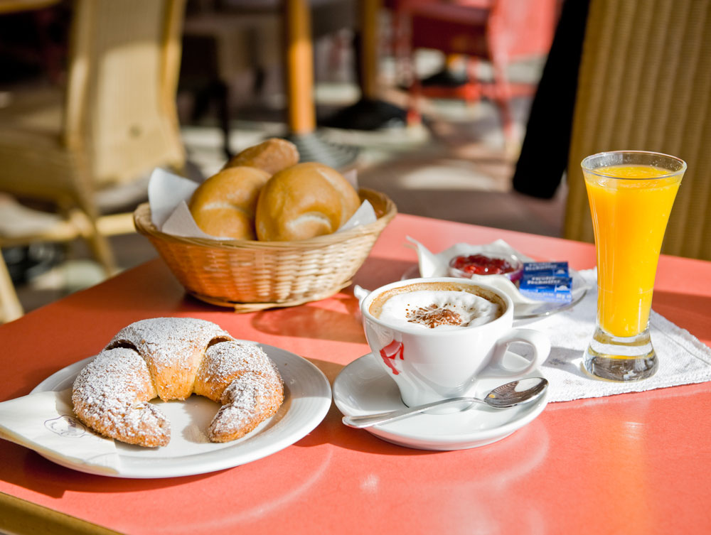 Konditorei Murauer: Frühstück